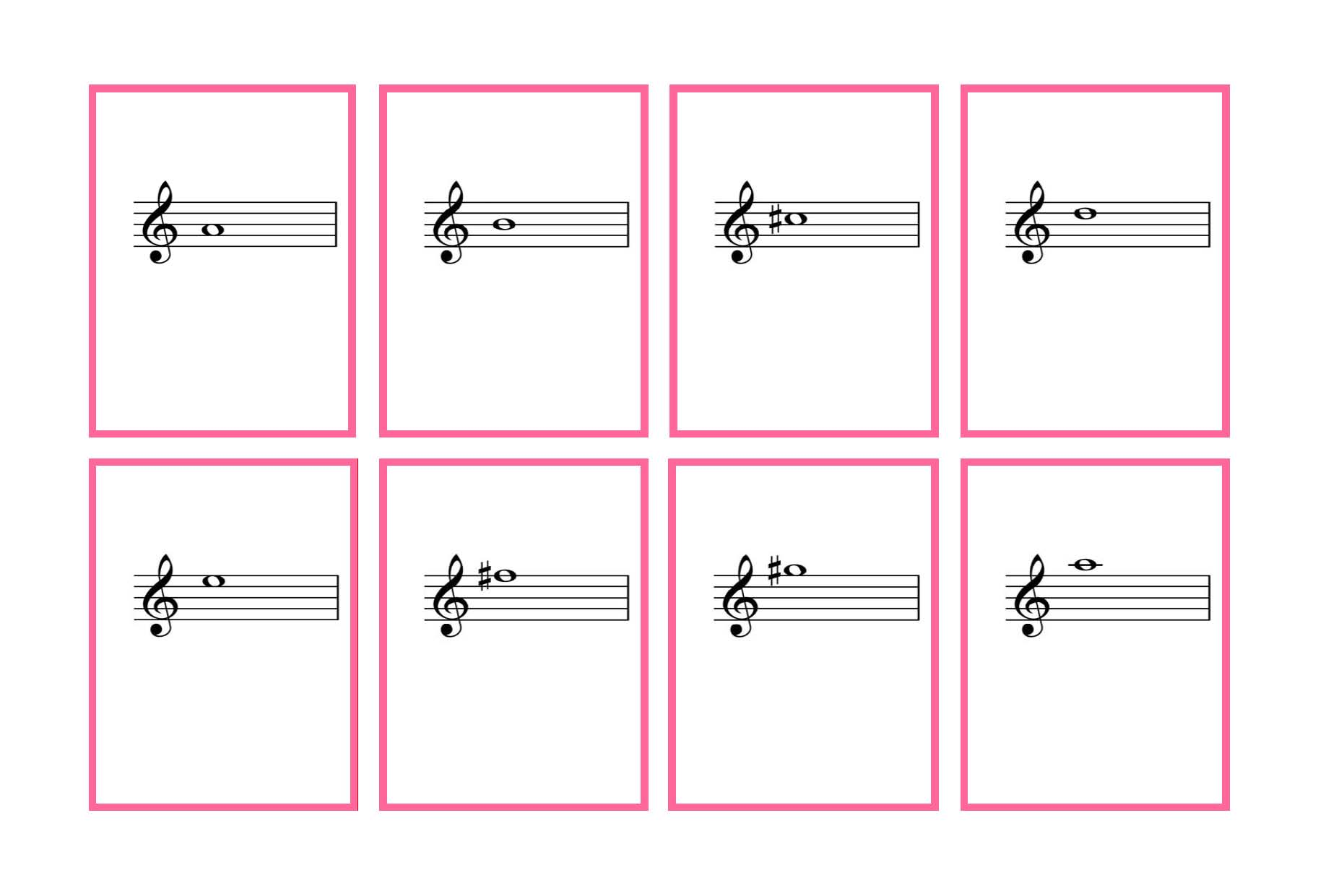 Printables Flash Card For Reading complete set violin flash cards printable denley music posted
